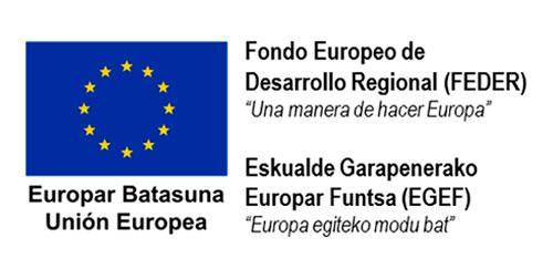 Logo Fondo Europeo de Desarrollo Regional FEDER