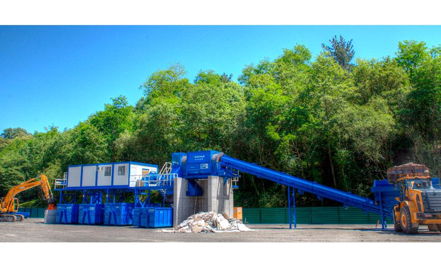 Gestión de residuos en la planta de Ekotrade